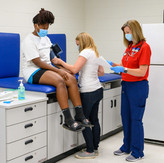 Advanced practice nursing students bring care into the community..jpg