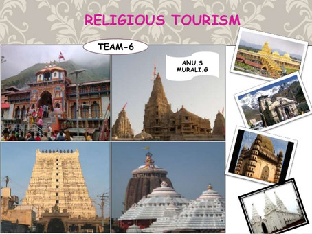 Reflections on Religious Tourism, Spiritual Travel, Post-Pandemic Possibilities