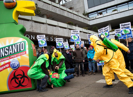 Germany says no thanks to cancer. Europeans against the killer pesticide Glyphosate.
