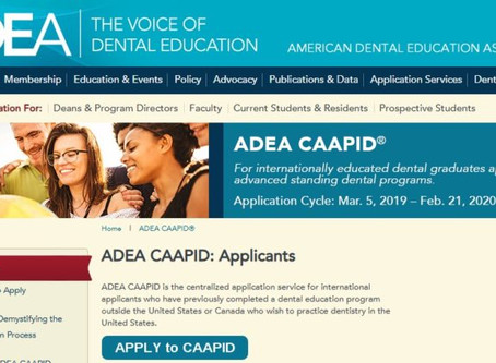 Indian Dentist ADEA CAAPID Personal Statement Examples, Writing and Editing Service, Tips