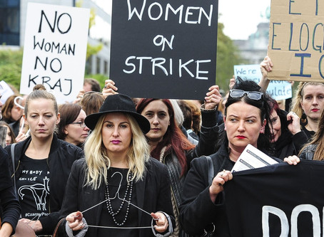Poland Takes to the Streets to Demand a Woman's Right to Abortion