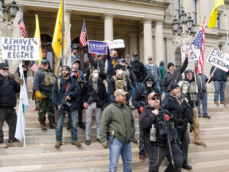 America Paralyzed by Fear, Disease, and Protest, Armed, Lockdown Resistance across the USA