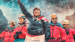 Spanish Film, 'Cholitas' about 5 mountain climbing indigenous women in Bolivia nominated at the Goya