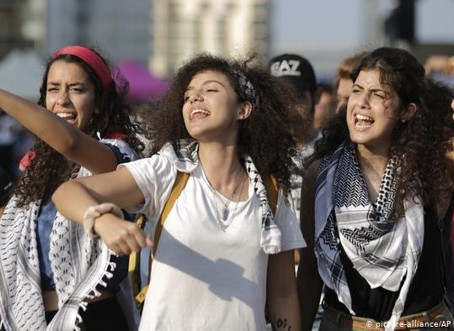 A new feminism born in protest in Lebanon, Lebanese Women on the front lines of social change.