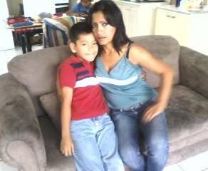 Isela, Madre Soltera, Guatemala City, Guatemala