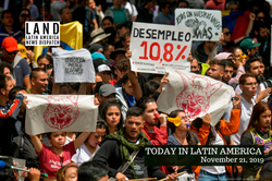 Colombia protest November 2019