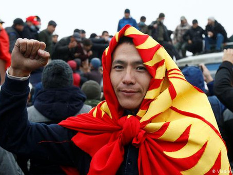 Big Win for Protesters in Kyrgyzstan, Putin's Puppet Prime Minister Resigns