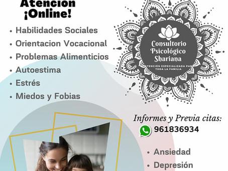Psicologa Yves Janampa, Lima, Peru, Consultorio Psicológico Shariana