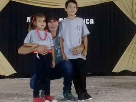 Dionel, Padre Soltero, Ypane, Paraguay