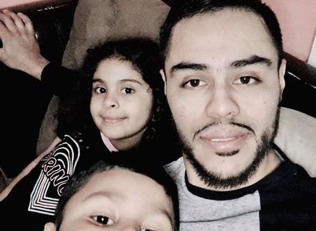 Emmanuel, 29, Estados Unidos, 2 hijos