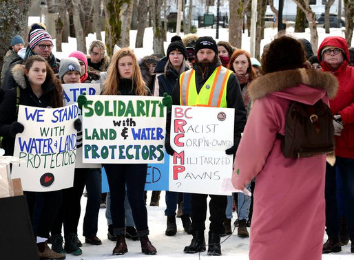 40 Land and Water Protectors Arrested in Canada, RCMP Brutality, A call for reinforcements.