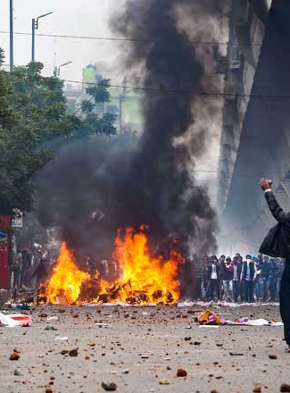 Protest suicide self immolation India.jp