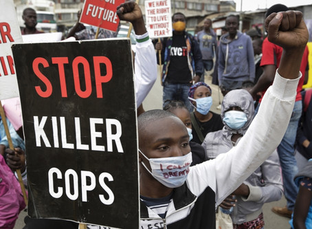 Black Lives Matter in Africa, Hundreds Protest for BLM in Kenya and South Africa