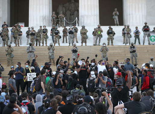 August 28, 2020 Protest for Racial Justice at the Lincoln Memorial Washington, DC