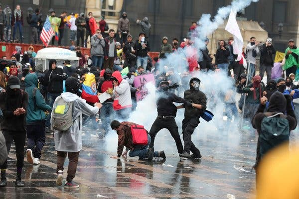 Colombia protest strike