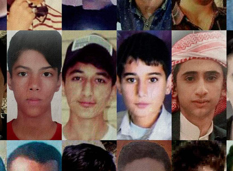 A tribute to the 23 children as young as 8 murdered by the security forces of Iran in November, 2019