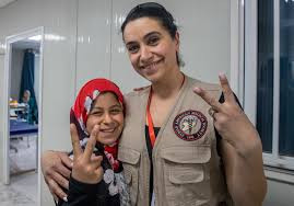 Helping Refugees from Iraq and Syria, Saudi Woman Dentist Trained in Jordan