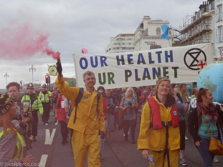 Extinction Rebellion at the global forefront of the fight to save mother earth. UK leadership.