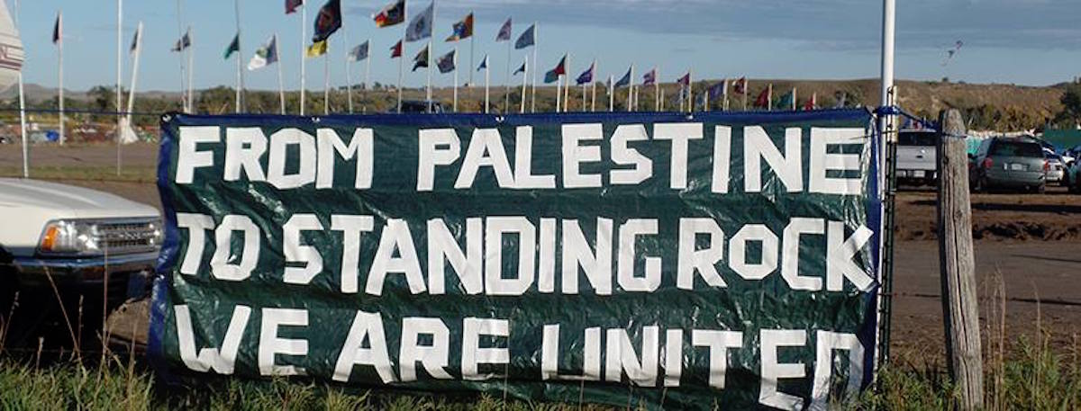 palestine to standing rock united