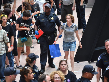 """I want it fucking now"", 20 teenage protesters arrested demanding change take over Capitol Building."