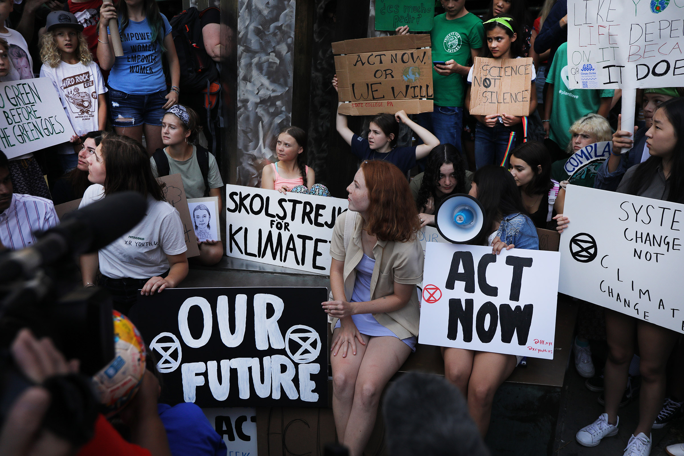 women against climate change