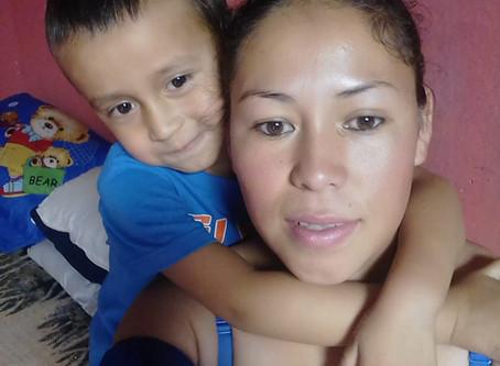Adriana, Madre Soltera, Taxisco, Santa Rosa, Guatemala