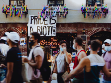 Pride is a Riot: Stonewall March in NYC Incorporates Black LIberation Theme 01/21/2021