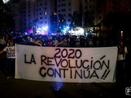 The Oasis is Burning: Protests in Chile show no sign of letting up in 2020