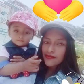 Jennifer, Madre Soltera, Guatemala City, Guatemala