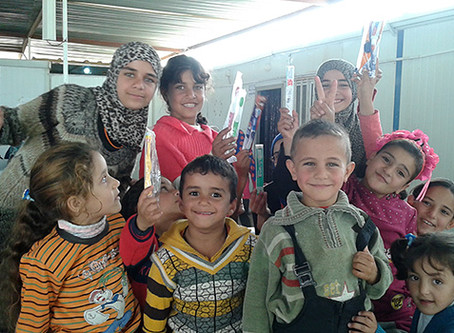 Iraqi Woman Pediatric Dentist Residency Program, Dental Volunteer in Syrian Refugee Camps