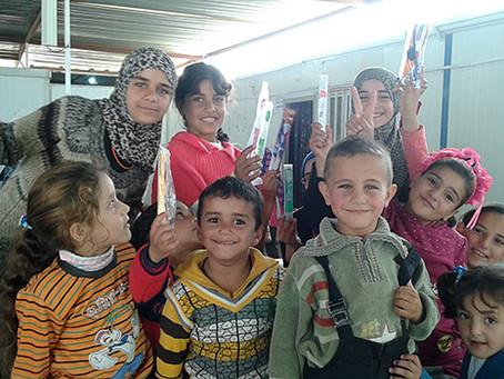 Iraqi Woman Pediatric Dentist Residency Program, Dental Volunteer in Syrian Refugee Camps