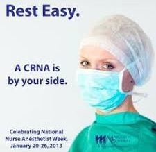 Nursing Masters, CRNA, Latina, Bilingual