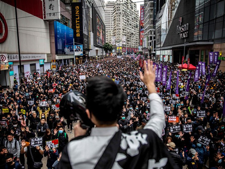 Chinese Communists Crack the Whip in Hong Kong, Hundreds Arrested, Threatened with Life in Prison