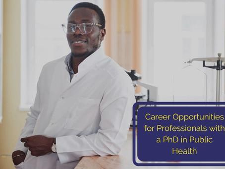 PHD Public Health Nursing, African Applicant