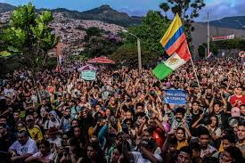 Colombia protest inequality
