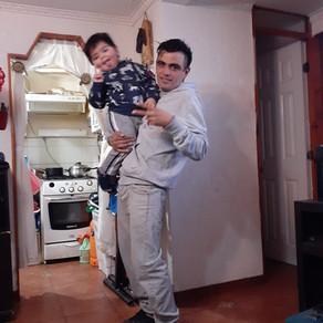 Luis, Padre Soltero, La Granja, Chile