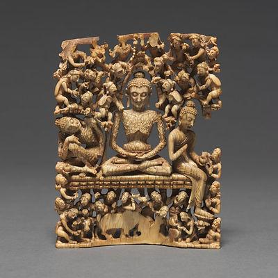 Fastende Buddha, Cleveland museum of art
