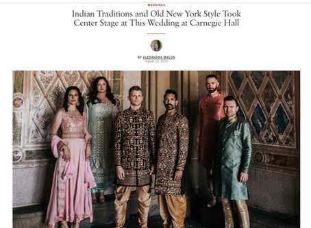 We're VOGUE OFFICIAL! LGBTQ + and multicultural weddings!