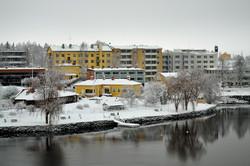 Lossiranta talvella
