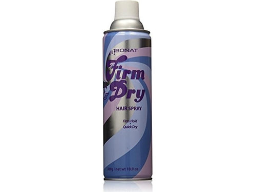 Firm and Dry Synthetic HairSpray