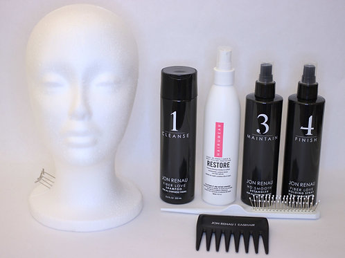 K's Premium Package for Heat Friendly Synthetic Topper