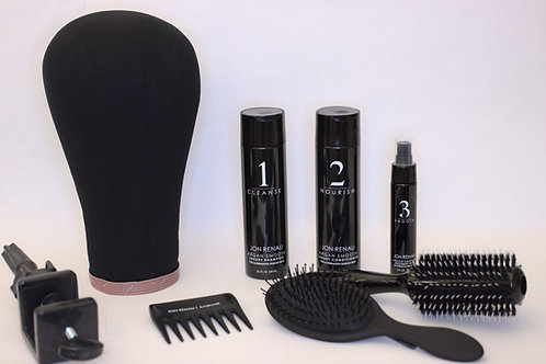 K's Premium Package for Human Hair Topper