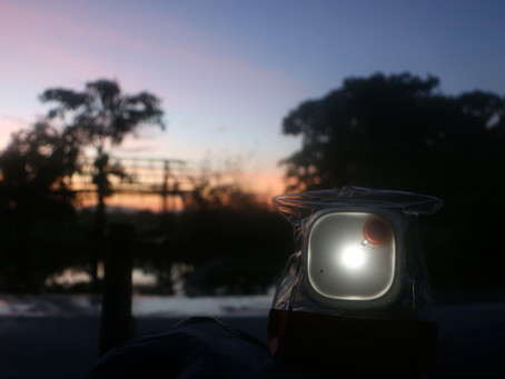 Solar Lights distributed to our Environment Rangers