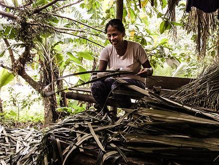 Lipa- Nanay gubat making brooms.jpg