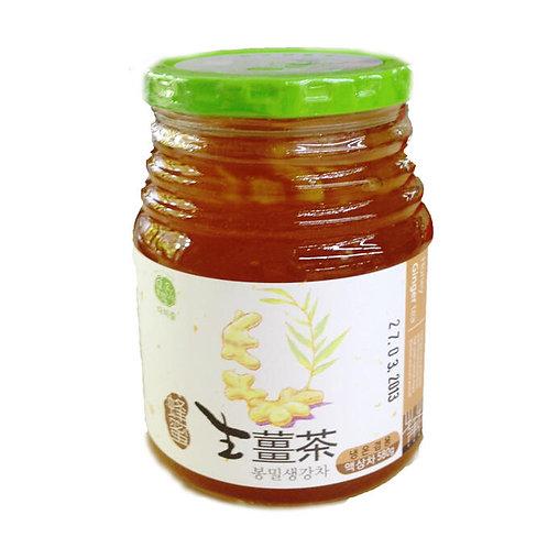 СЕНГАНЧА, чай имбирь на меду