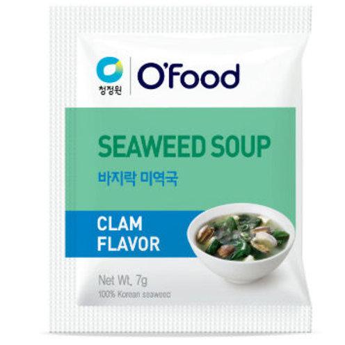 Миеккук , суп из водорослей