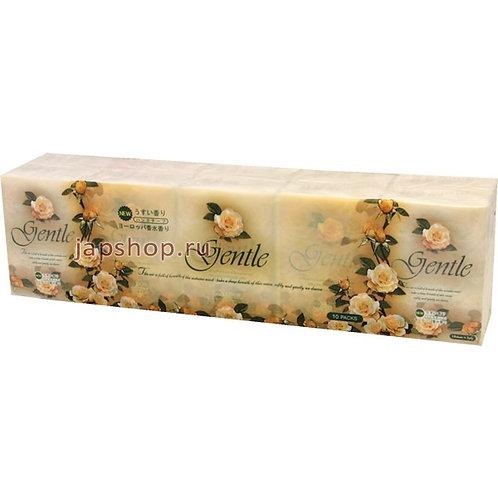 Бумажные платочки с ароматом Gentle