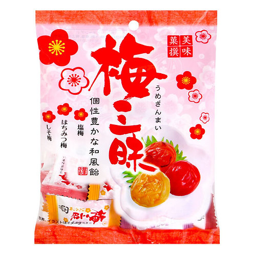 Натуральные конфеты Умебоши