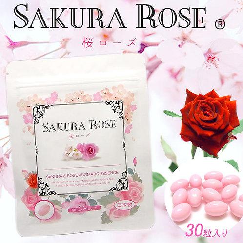Капсулы для приятного запаха тела Sakura Rose