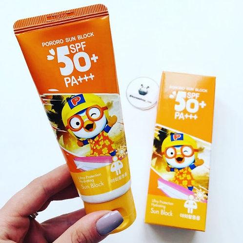 Солнцезащитный крем для  детей и взрослых Pororo
